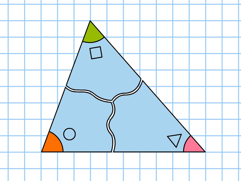 内角 和 五角形 の