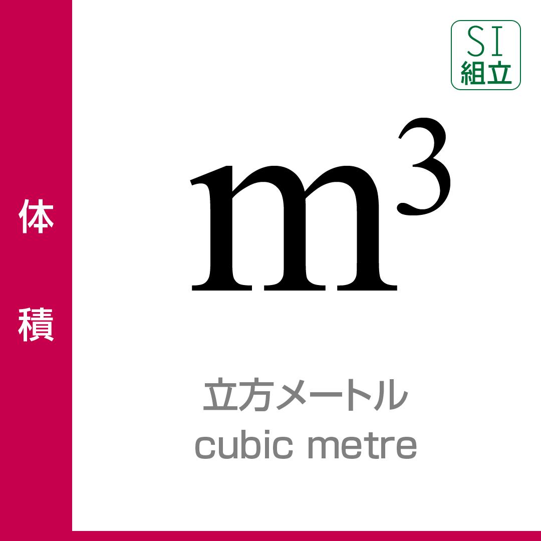 1 立方メートル は 何 立方センチメートル